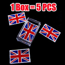 United Kingdom of Great Britain Union Jack flag Iron on patch (1Box = 5 Pcs)