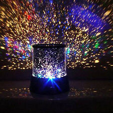 Novelty Romantic Colorful LED Cosmos Star Master Projector Lamp Night Light Gift