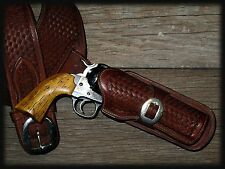 "RUGER BISLEY ""VINTAGE"" AGED DISTRESSED IVORY GRIPS ~ Single Action Revolver"