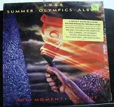 VINYL RECORD LP 1988 SUMMER OLYMPICS ALBUM ONE MOMENT IN TIME HYPE STICKER EX EX