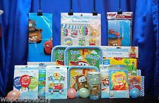 Cars 1st Birthday Party Set # 17 Cars 1st Birthday Supplies HUGE SET for 16