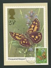 GB UK MK 1981 FAUNA SCHMETTERLINGE BUTTERFLY CARTE MAXIMUM CARD MC CM 60560