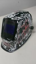 LINCOLN VIKING 2450 3350 WELDING HELMET WRAP DECAL STICKER SKINS  jig welder 1