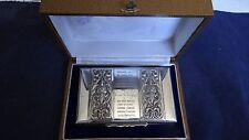 Amazing High Relief Thailand Air Chief Marshal Sterling Silver Presentation Box