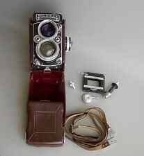 Rolleiflex f2.8E - TLR Medium format w/35mm kit
