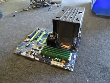 Dell XPS 730 Desktop Motherboard F642F w/ Core2 Quad 2.4Ghz CPU Heatsink & 4gb