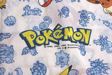 Pokemon Twin Flat Sheet Vintage 1990's Nintendo USA Pokémon Cotton