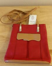 NEW I Medici Genuine Leather Firenze Red Backpack Bag