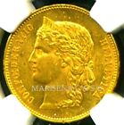 SWITZERLAND 1893 B GOLD COIN 20 FRANCS * NGC CERTIFIED GENUINE MS 62 *GORGEOUS