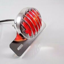 Chrome Tail Brake Running License Light Plate Mount For Motorcycle Bobber Custom