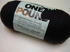 Caron One Pound Yarn - One Skein 547 Deep Violet