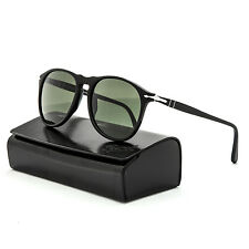 Persol 9649 Sunglasses 95/31 Black with Grey Lens PO9649S 55 mm NEW & AUTHENTIC