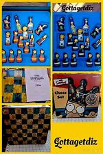 The Simpsons Chess Set 3D Tin Container 1998 NIB