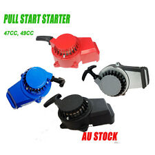 Mini Bike 2 Stroke Pull Start Recoil Starter Pit Dune Quad Buggy 47 49cc Engine