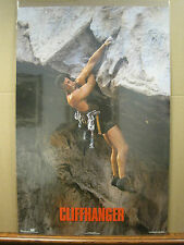 Vintage Stallone Cliffhanger movie poster 1993 3340