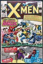 X-MEN #9 VG AVENGERS X-OVER