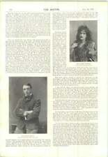 1897 Miss Hall Caine Appeared As Gloria Mr Martin Harvey Miss Muriel Wylford
