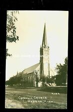 RPPC Catholic Church Wadena MN circa 1930's  A8699