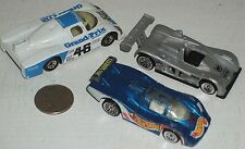 "Car 3pc Group #6 - 3 Formula One Race Cars 3"" USED"
