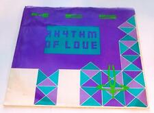 Yes Rhythm Of Love b/w City Of Love 1987 Atco 99419 Rock 45 rpm Picture SLVE VG+