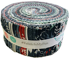 """Riley Blake BY THE SEA Rolie Polie 2.5"""" Fabric Strips Jelly Roll RP-5700-40"""