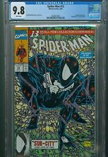 Spider-Man 13 CGC 9.8 Todd Mcfarlane Black Costume Cover Homage Amazing Marvel 1