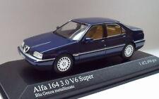 Alfa Roméo 164 minichamps 1/43 bleu