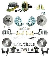 1968-69 Camaro Front & Rear Stag Disc Brake Conversion Kits With Power Package
