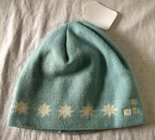 Burton Kids Girls Star Knit Snow Ski Snowboard Hat Blue One Size Fits Most NEW