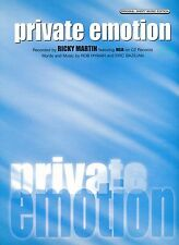 Private Emotion - Ricky Martin - 1999 Sheet Music