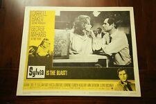 SYLVIA Original 1965 Lobby Card CARROLL BAKER GEORGE MAHARIS JOANNE DRU