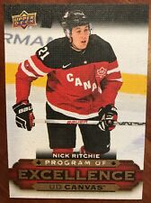 2015-16 UD Hockey Series 2 Canvas Program Of Excellence Nick Ritchie #C267