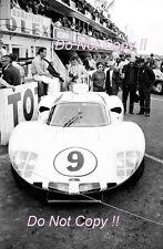 Phil Hill & Jo Bonnier Chaparral 2D Le Mans 1966 Photograph 1