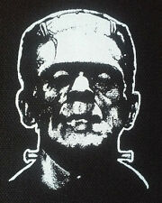 Frankenstein PATCH canvas screen print HORROR - Boris Karloff Universal Monsters