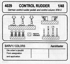 CMK CZECH MASTER'S KITS 4029 - GERMAN CONTROL RUDDER - 1/48 RESIN KIT
