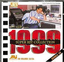 Hindi Karaoke - Super Hit Collection 1999 - Two CD Set - Songs Music