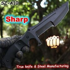 Huntsman Tiger CS GO Counter Strike Black Karambit Knife Neck Knife