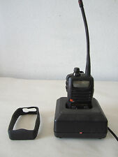 Vertex UHF FM transceiver VX-10 (4X) Radio Battery, Beltclip, Antenna & Charger