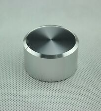 1PC 38*22 Silver Generic Solid Aluminum Knob FR Amplifier Speaker CD DVD Player