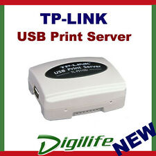 TP-Link Single USB 2.0 Print Server to Fast Ethernet TL-PS110U