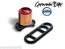 BROOKS Fanale bici posteriore luce FEMTO Rear Light bike fanalino rame copper