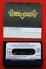 ANNATHEMA S/T 1989 ORIGINAL RARE EXYUG CASSETTE TAPE HEAVY THRASH SPEED METAL