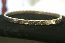 Vintage Signed Sterling Silver Bangle Bracelet Taxco Sterling Silver 925 Bangle