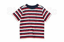 SFK crazy8 Stripe Tee Navy Stripe shirt kids tshirt