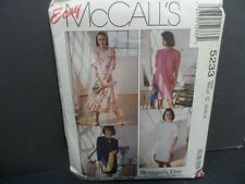 McCall's One or 2 Piece Dress Pattern UNCUT FF Size 10-14