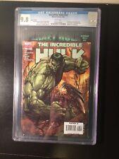 Incredible Hulk 100B CGC 9.8 Whitepages / Planet Hulk / Michael Turner Greg Pak