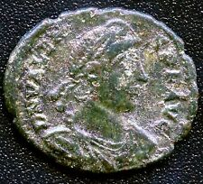 "Ancient Roman Coin "" Valens "" 364 - 378 A.D. Ref# S4018 18 mm Diameter"