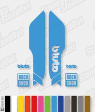 FORCELLA di sospensione RockShox BLUTO 2015 2016 stile Decalcomanie Adesivi - 12 + colori personalizzati