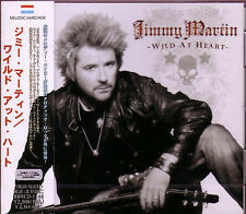 JIMMY MARTIN Wild At Heart + 1 Japan CD 2013 FISC Melodic Robin Beck THE KNACK