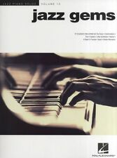 Jazz Piano Solos Jazz Gems Learn to Play Charlie Parker Blues Music Book